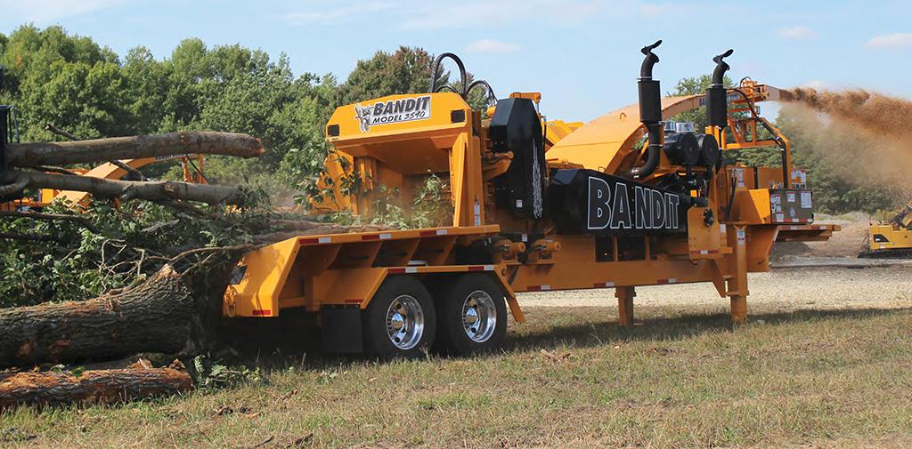 Broyeur de déchetterie Bandit 3590XP ALM