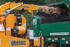Broyeur forestier diamètre admissible 61 cm Bandit 21XP ALM