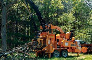 Broyeur forestier grue radiocommandée Bandit 21XP ALM