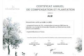 Certificat ALM