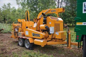 Broyeur forestier sur roues 321 cv - Bandit 21XP