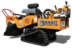 Rogneuse de souches sur chenilles Bandit ZT1844
