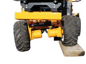 Rogneuse de souche essieux amovibles 2550 Bandit ALM
