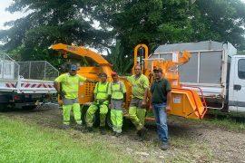 Broyeur de branches de moins de 3.5 t Bandit 15XPC ALM IGOUF La Réunion