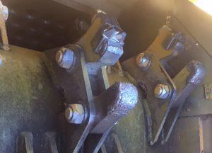 Broyeur de déchèterie tambour diamètre 40 cm dents ou couteaux 1425 Bandit ALM