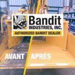Remise en état, réparation et entretien des broyeurs de branches !