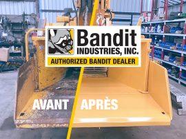 Entretien broyeur de branches Bandit 1390 ALM