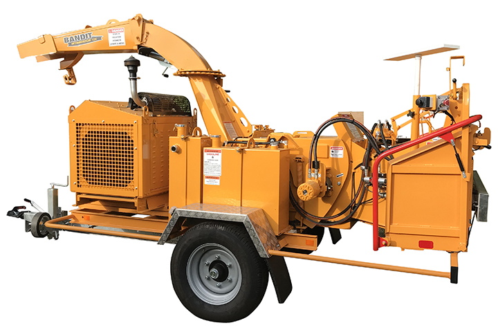 Broyeur de branches thermique sur roues diamètre 30 cm compact 12X Bandit ALM.