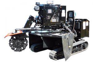 Dessoucheuse thermique balayage 2.06 m SG-75 Bandit ALM.