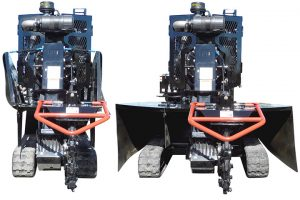 Dessoucheuse thermique largeur ajustable de 890 à 1 400 mm SG-75 Bandit ALM.