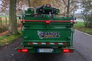 Barre anti-encastrement avec feux à LED - broyeur thermique bioéthanol Bandit 12X