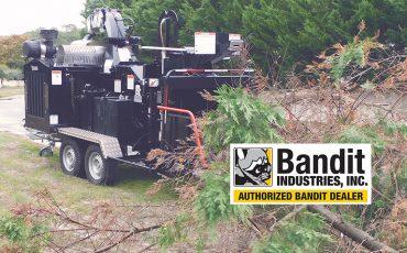 Broyeur végétaux gros diamètre Bandit 15XP.