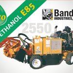 Rogneuse de souches bioéthanol E85 – Bandit 2550 !