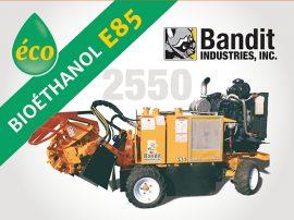 Rogneuse de souches bioéthanol Bandit 2550 ALM.