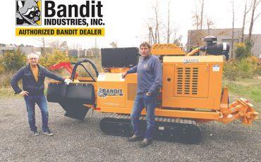 Rogneuse de souches diesel Bandit 2900T Tursan Adour Elagage