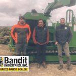 Broyeur forestier à chenilles Bandit 18XPT