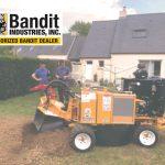 Rogneuse sur roues 100 % hydraulique Bandit 2550