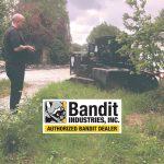 Dessoucheuse sur chenilles XXL Bandit SG-75 !