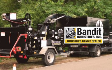Broyeur végétaux bioéthanol V6 145 cv Sylvatech Bandit 12XP.
