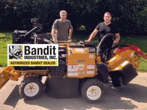 Rogneuse hydraulique 4 roues motrices Bandit-2550 Ouvriers Jardin.